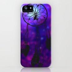 Dreamcatcher (purple) iPhone (5, 5s) Slim Case