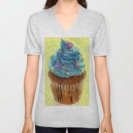 Cupcakes Unisex V-Neck