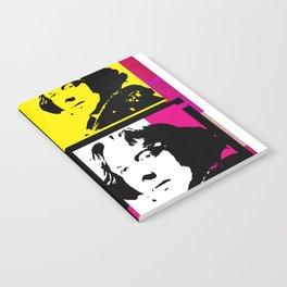 OSCAR WILDE (4-UP POP ART COLLAGE) Notebook