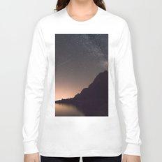 SHOOTING STAR / MILKYWAY / PINK SKY Long Sleeve T-shirt
