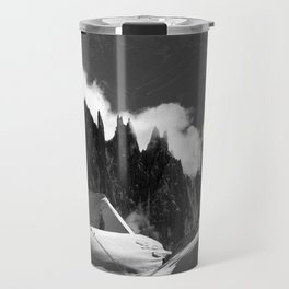 The Needles of the French Alps Travel Mug