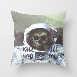 Dead Astronaut Space Throw Pillow