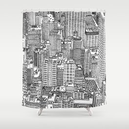 New York View 3 Shower Curtain