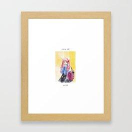 Chibiusa - Fan Art Sailor Moon Framed Art Print