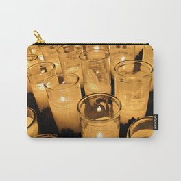 New Orleans Votive Church Candles Carry-All Pouch