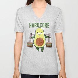 Hardcore Avocado Unisex V-Neck