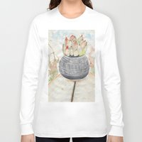 succulent Long Sleeve T-shirts featuring Succulent by Kim Ly
