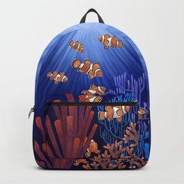 Clown Fish tank Backpack