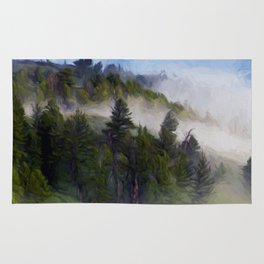 Morning Fog #2 Rug