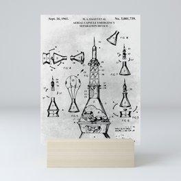 Aerial Capsule Mini Art Print