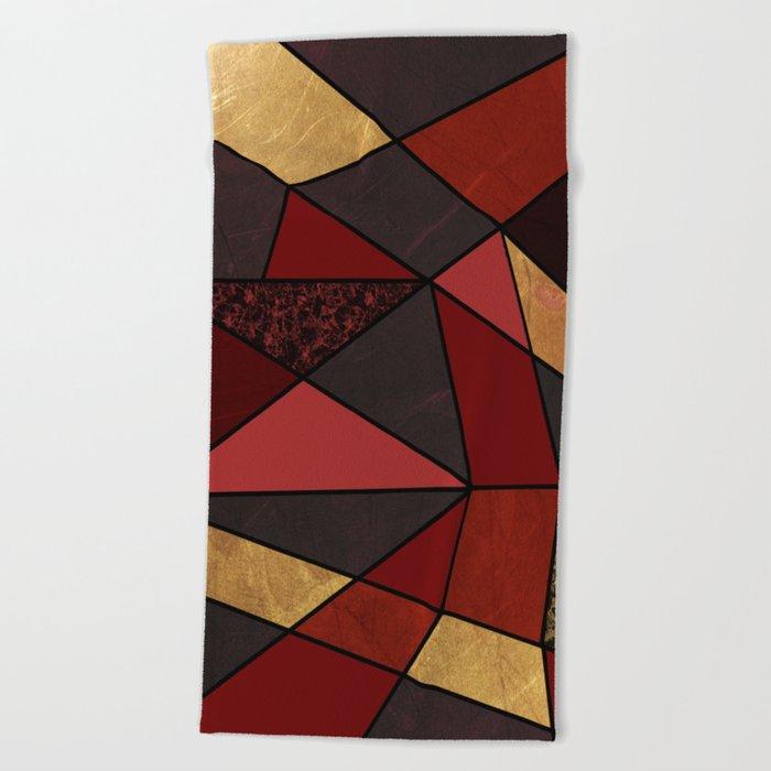 Abstract #467 Beach Towel