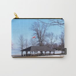 Shelter by the Lake Carry-All Pouch