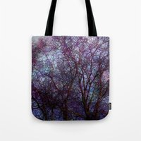 artsy Tote Bags featuring artsy tree by Stephanie Koehl
