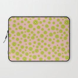 Kiwi Polka Dot Pattern Laptop Sleeve