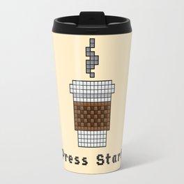 8-Bit Coffee Travel Mug
