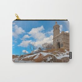 Winter Gettysburg Castle Carry-All Pouch