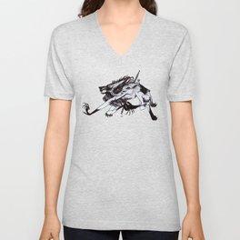 Werewolf Carousel Unisex V-Neck