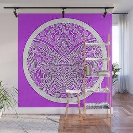 Purple reflection Wall Mural