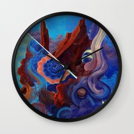 The pull of surrender Wall Clock