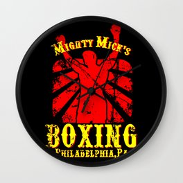 Rocky - Mighty Micks Gym Wall Clock