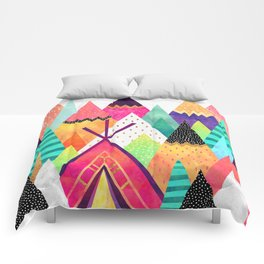 Land of Color Comforters