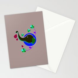 Goddess Lakshmi from India Stationery Cards