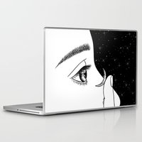 contact Laptop & iPad Skins featuring Contact by Henn Kim