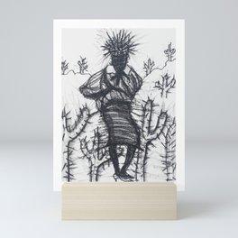Sand storm Mini Art Print