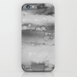 watercolor field iPhone Case