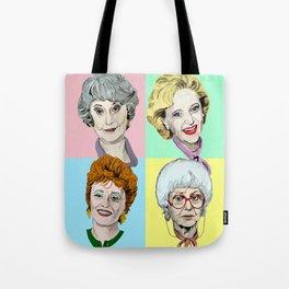 Golden Girls Multi-Colour Tote Bag