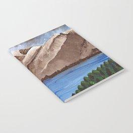 Serene Mountains Notebook
