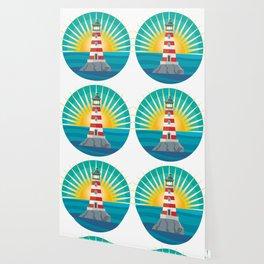 emblem lighthouse Wallpaper