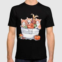 Harvest Kittens T-shirt