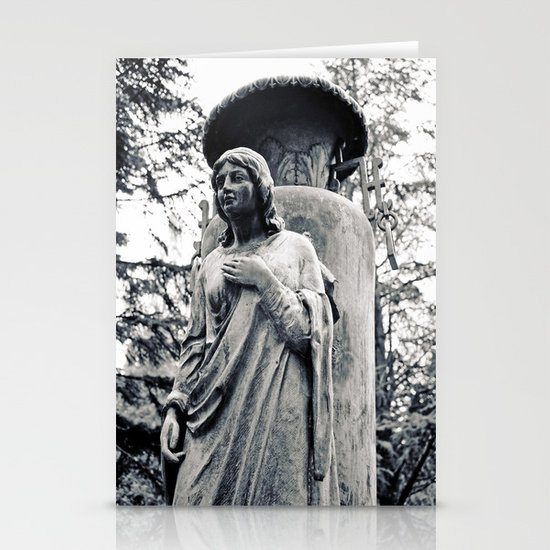 Angel without wings Stationery Cards