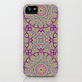 Acid Symmetry iPhone Case