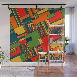 African geometric pattern Wall Mural