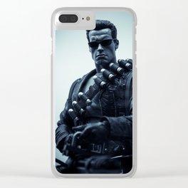 """""""Hasta La Vista, Baby"""" Clear iPhone Case"""