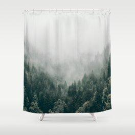 Foggy Forest 3 Shower Curtain