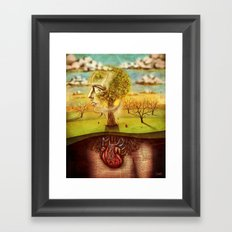 Rooted Framed Art Print
