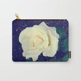 Secret Garden | Pure White Carry-All Pouch