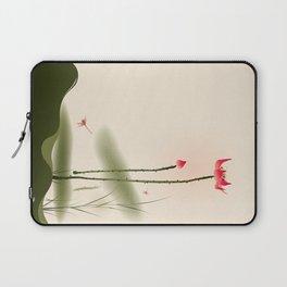 Oriental Lotus 002 Laptop Sleeve