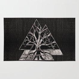 Valknut Symbol and Tree of life  -Yggdrasil Rug