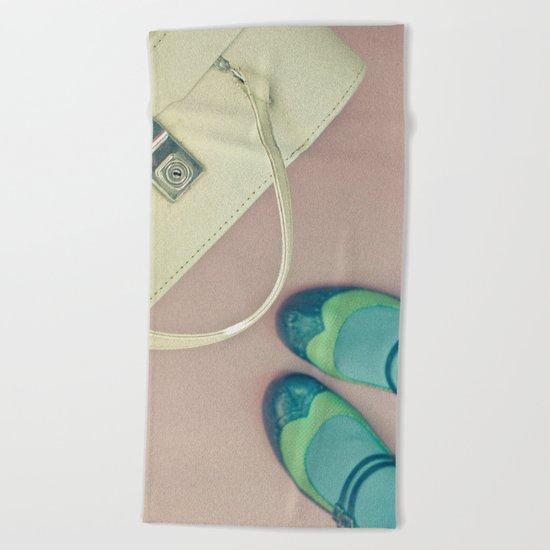 Travel Stories Beach Towel