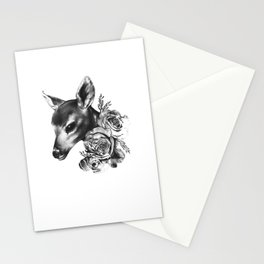 Fawn & Flora II Stationery Cards
