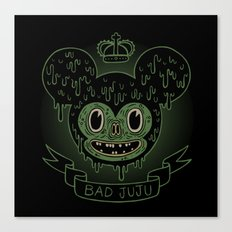 bad juju Canvas Print