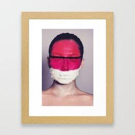 Fading Paint Framed Art Print