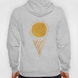 Sun Ice Cream Cone Hoody