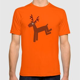 Reindeer-Green T-shirt