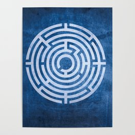 Solving Mazes Poster
