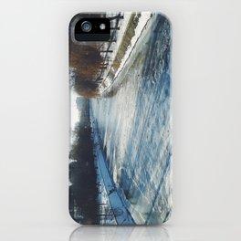 Frozen river by Giada Ciotola iPhone Case